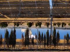 Heliostat array, Seville